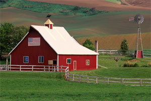 Znaczenie snu gospodarstwo wiejskie
