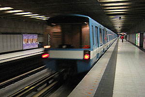 Znaczenie snu metro