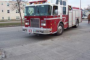 Znaczenie snu wóz strażacki