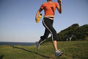 Bieg w zwolnionym tempie
