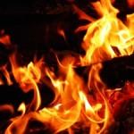 Sen o pożarze